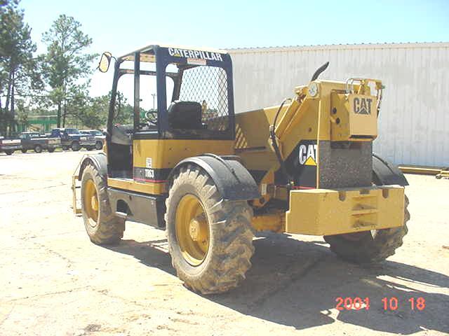 2000 Cat TH63 Telehandler in Gulfport, Mississippi, United