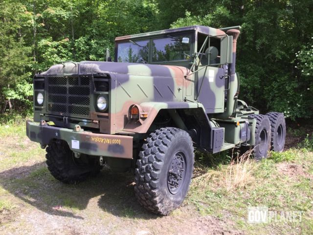 Surplus BMY M931A2 6x6 Tractor Truck in New Castle, Delaware, United