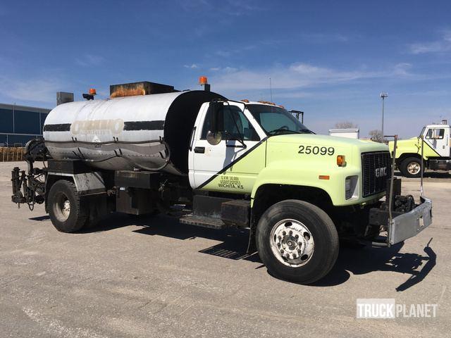 1998 GMC C7500 Asphalt Distributor Truck In Wichita Kansas
