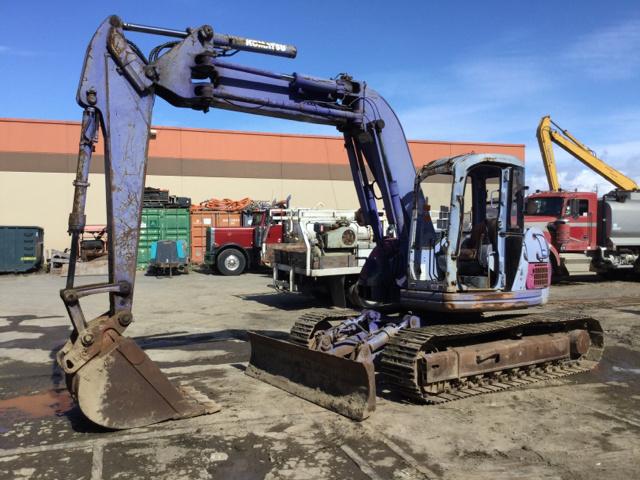 Komatsu PC128UU-1E Track Excavator