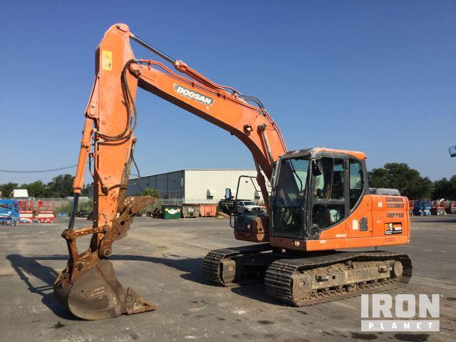 2014 Doosan DX140LC-3 Track Excavator in Tampa, Florida