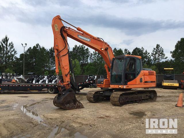 2012 Doosan DX140LC Track Excavator in Panama City, Florida