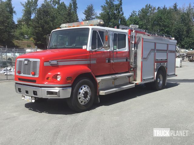1997 (unverified) Freightliner FL112 S/A Fire Truck in