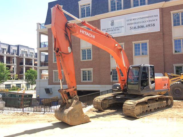 Hitachi ZX270 Hydraulic Excavator Specs & Dimensions :: RitchieSpecs