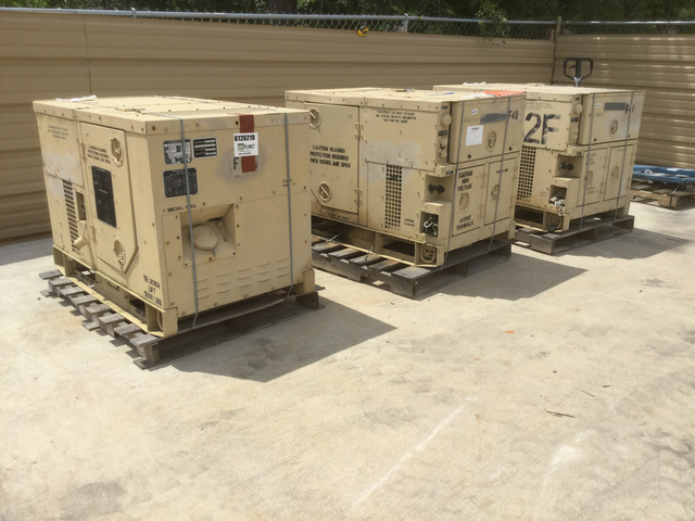 Libby Government Surplus Generator Sets For Sale   GovPlanet