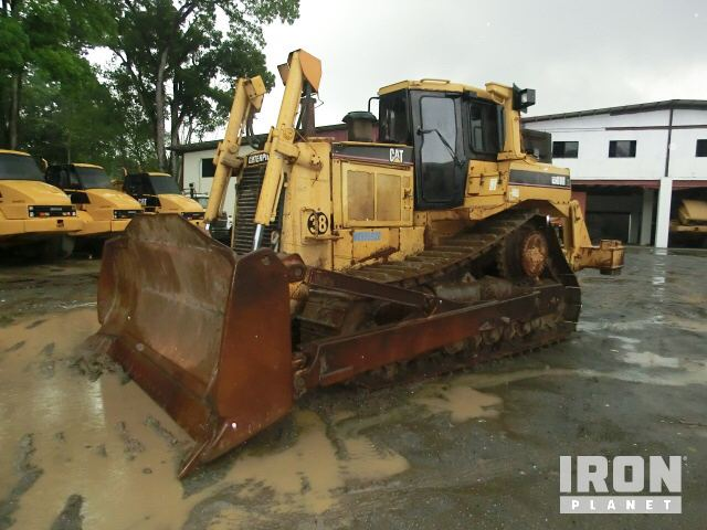 Caterpillar D8R Crawler Tractor Specs & Dimensions :: RitchieSpecs