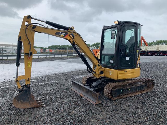 2016 Cat 303 5E CR Mini Excavator