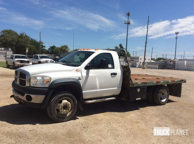 2010 Ram 5500 Flatbed Truck in Wichita, Kansas, United