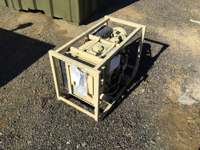 Dewey Electronics Generator Sets Government Surplus For Sale
