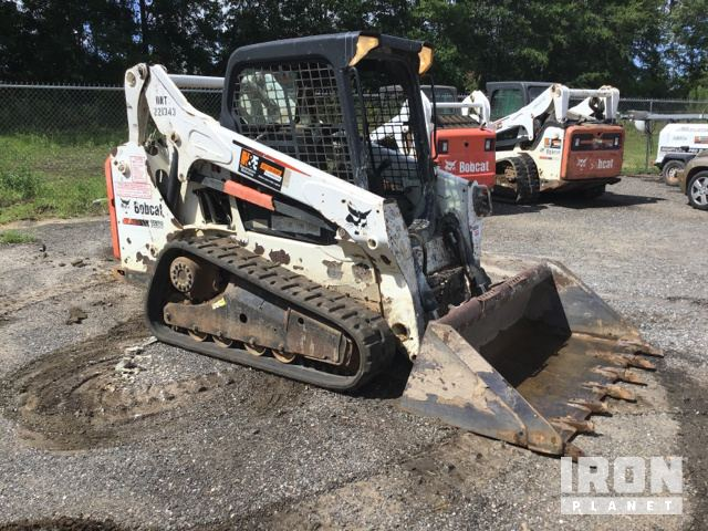 2013 Bobcat T590 Compact Track Loader in Midway, Florida