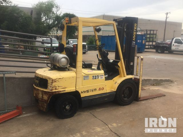 Hyster H60XM Pneumatic Tire Forklift in Irving, Texas