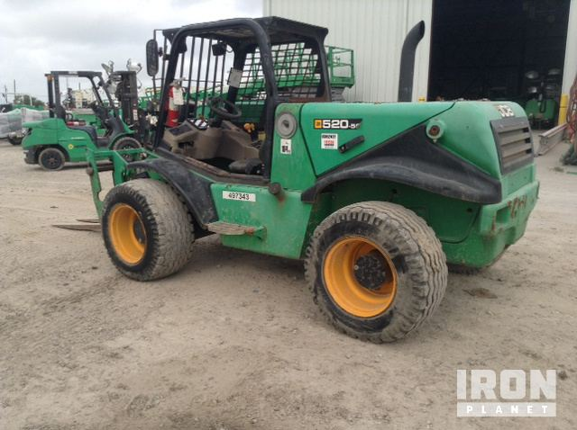 2012 JCB 520-50 Telehandler in Corpus Christi, Texas, United ... Jcb Wiring Diagram on