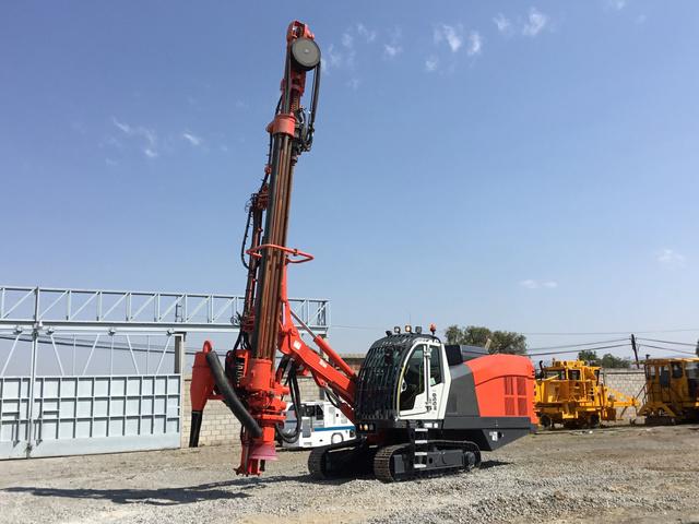 Sandvik Crawler Mounted Blast Hole Drill For Sale   IronPlanet