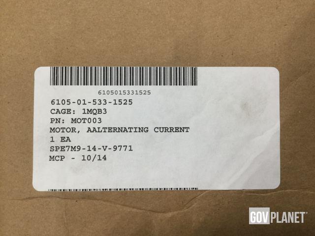 Surplus (12) Fasco 71731684 Alternating Motors in