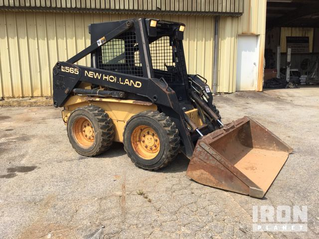 New Holland LX565 Skid-Steer Loader in Gainesville, Georgia