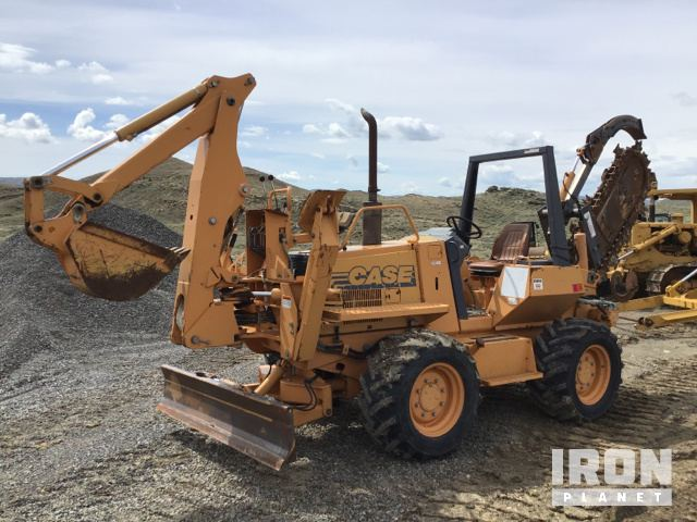 Case 860 Trencher In Cody Wyoming United States