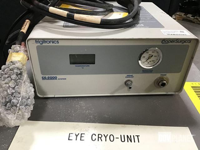Surplus (1) Frigitronics CE-2000 Cryosurgery System & (1