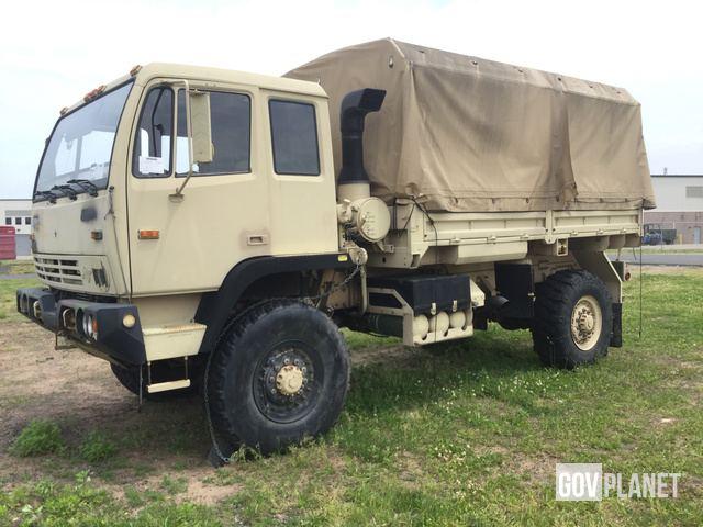 Surplus 2003 Stewart & Stevenson M1078A1 LMTV 4x4 Cargo Truck in