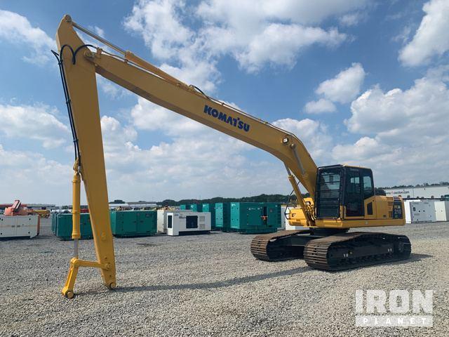 2018 Komatsu PC210LC-8M0 Long Reach Excavator - Unused, Hydraulic Excavator