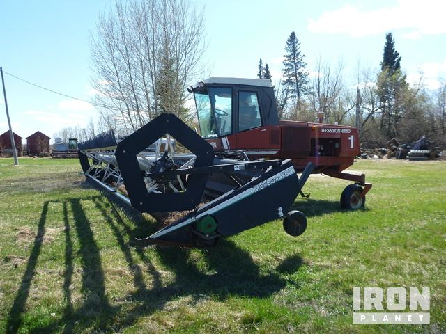 Hesston 9365 Self-Propelled Swather Specs & Dimensions :: RitchieSpecs