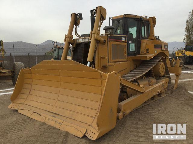 2005 Cat D8R Crawler Dozer, Crawler Tractor
