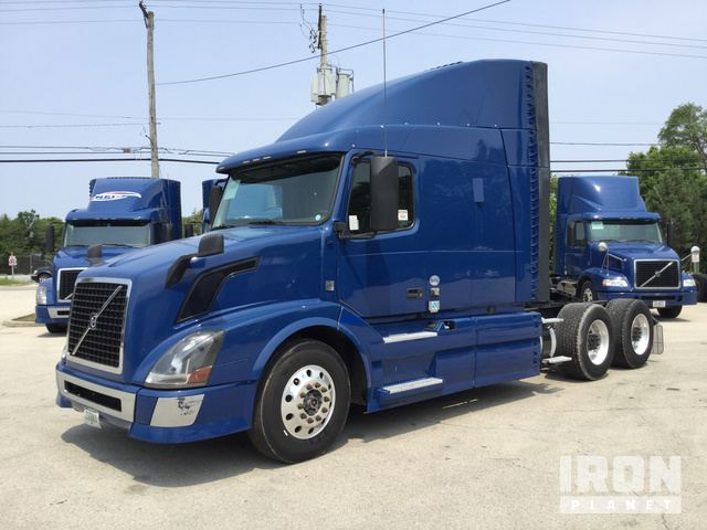 2015 Volvo VNL T/A Sleeper Truck Tractor in Channahon ... on