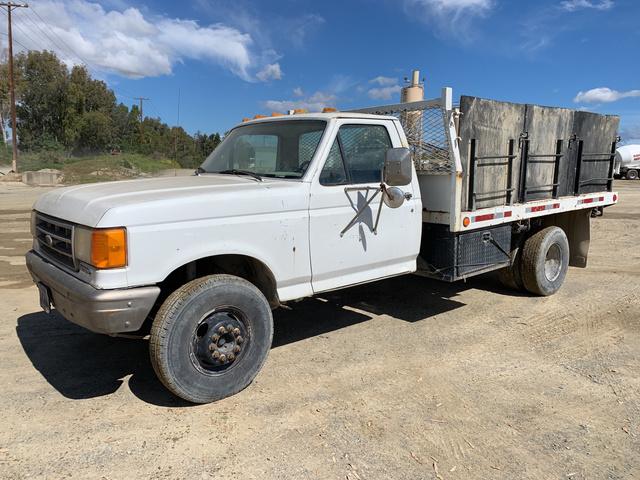 1988 Ford F 450 Flatbed Dump Truck
