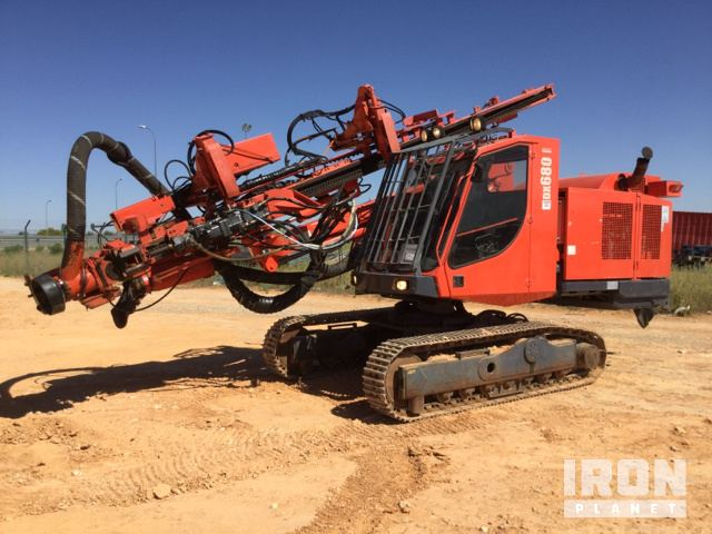 2008 Sandvik DX680 Crawler Mounted Blast Hole Drill in Ocana