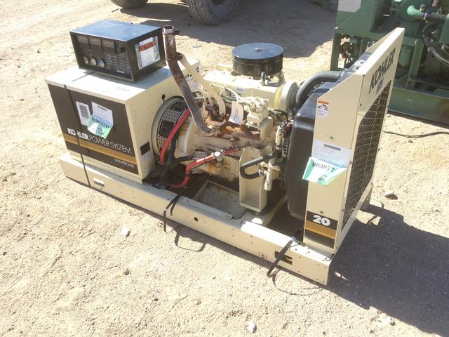 Kohler 20RZ61 Generator Set