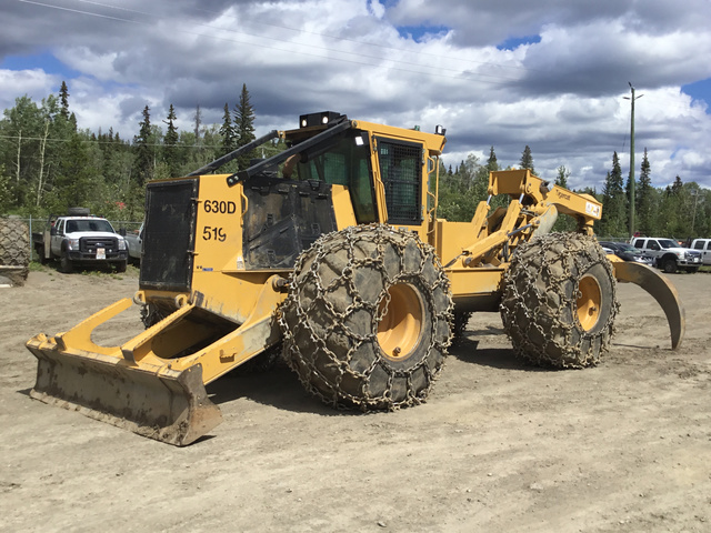 Tiger Cat Wheel Skidder For Sale | IronPlanet