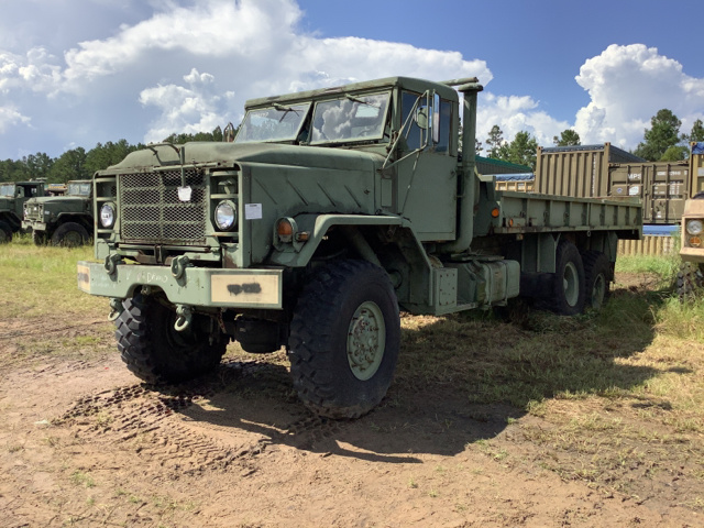 1990 BMY M927A2 5 Ton 6x6 Cargo