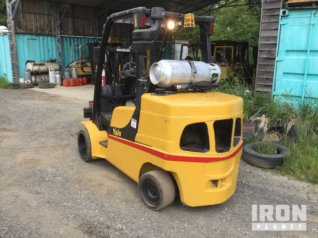 2009 Yale GLC100VXNGSE084 Cushion Tire Forklift in Arlington