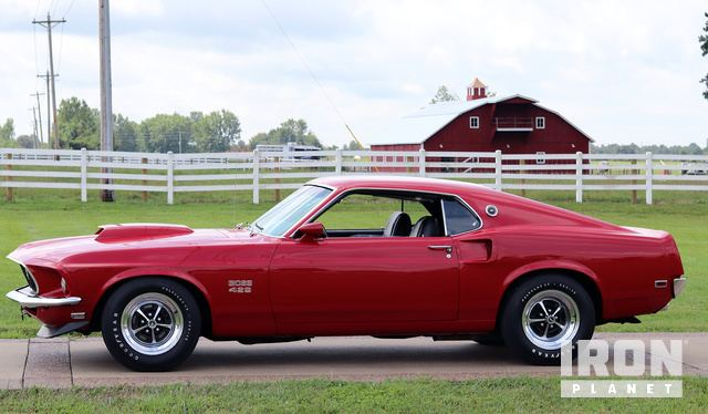1969 Ford Mustang Boss 429 >> 1969 Ford Mustang Boss 429 Fastback