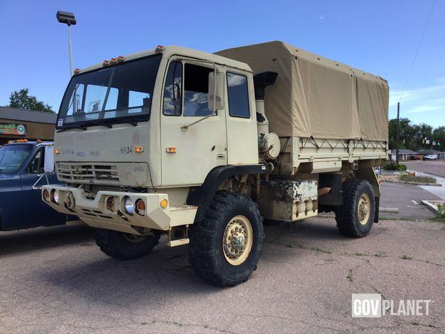 1996 Stewart & Stevenson M1078 LMTV 4x4 Cargo Truck