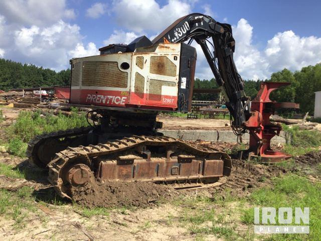 Prentice 1290T Track Feller Buncher