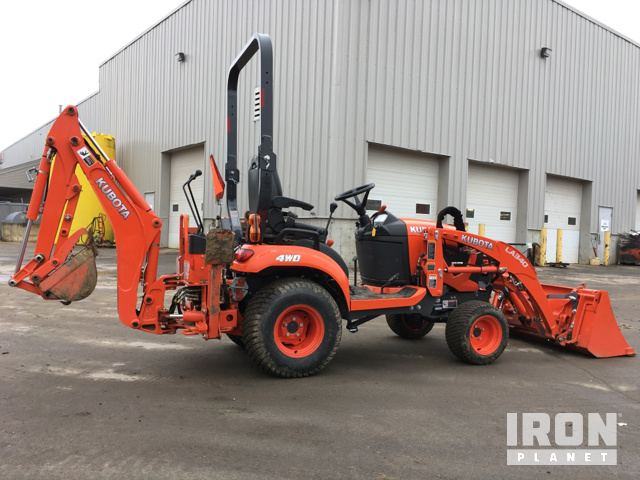 2017 Kubota BX23S 4WD Utility Tractor in Tilton, New