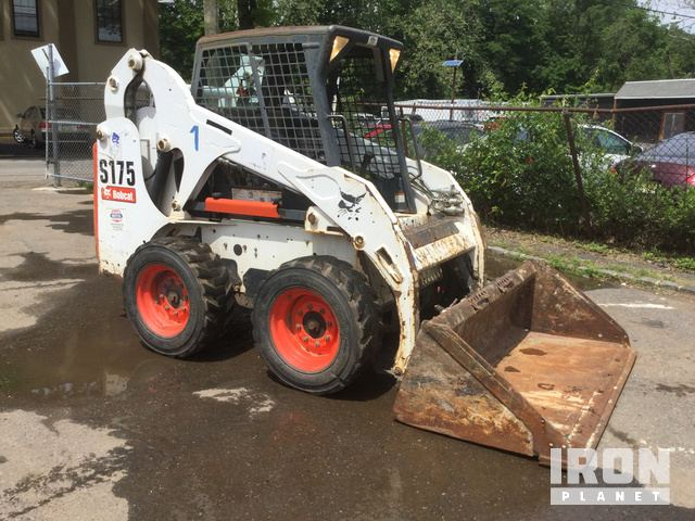 2010 Bobcat S175 Skid-Steer Loader in Bloomfield, New Jersey, United