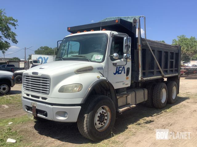 Surplus 2009 Freightliner M2 106 T/A Dump Truck in