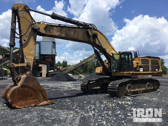 Caterpillar 390D L Hydraulic Excavator Specs & Dimensions