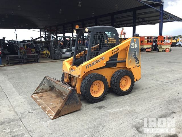 Mustang 2054 Skid Steer Loader Specs & Dimensions :: RitchieSpecs