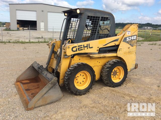 2011 Gehl 5240 Skid Steer Loader In Tulsa Oklahoma United