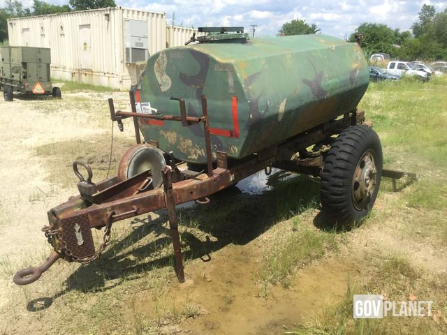 Surplus Gz Products 7034967 Water Tank Trailer in