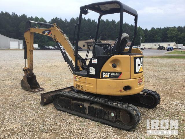 2014 Cat 303 5E CR Mini Excavator In Newton Mississippi