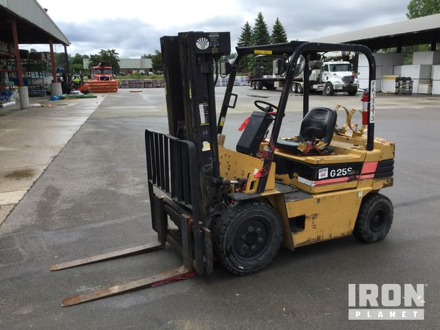 Daewoo G25S-2 Pneumatic Tire Forklift in Rochester Hills, Michigan