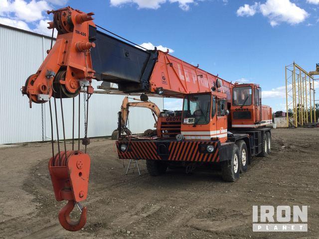 Grove TM650 Hydraulic Truck Crane in Lloydminister, Alberta