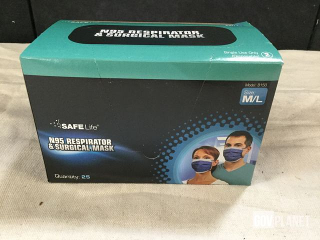 Respirator Surplus amp; Surgical In Masks Safe 39 Life N95 Boxes Of