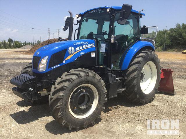 2018 New Holland T5 95 4WD Tractor w/ Tajfun EGV105 AHC