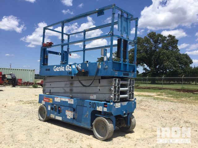 2015 Genie GS-2632 Electric Scissor Lift in Jackson, Tennessee ... on