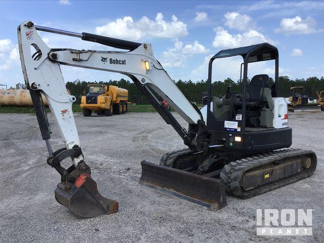 2014 Bobcat E50 Mini Excavator in Davenport, Florida, United