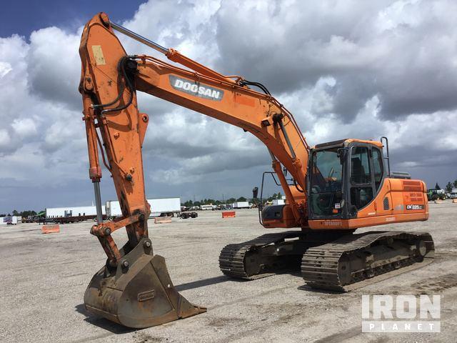 2012 Doosan DX225LC-3 Track Excavator in Davenport, Florida, United
